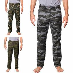 70ffcc6aee5602 Victorious Mens Camouflage Cargo Slim Fit Pants AR170 - FREE