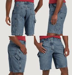 Wrangler Men's Carpenter Jeans Shorts Work Utility Loop Mi