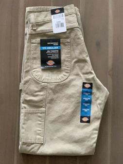 DICKIES Mens Carpenter Pants Jeans Relaxed Fit Straight Leg
