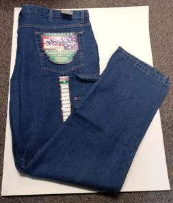"Liberty Mens Carpenter Relaxed Fit Jeans 46"" x 34"" New with"