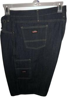 Dickies Men's Denim Jean Carpenter Shorts Size 42
