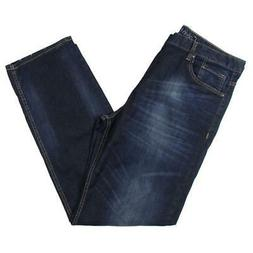 Calvin Klein Jeans Mens Distressed Relaxed Fit Classic Strai