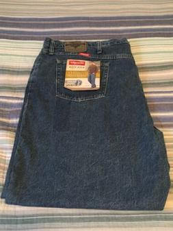 Men's Wrangler Five Star Relaxed Fit Jeans Size 50x30 New
