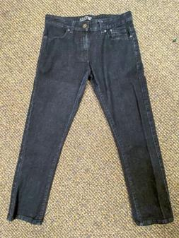 Mens Southpole Flex Denim Jeans Regular Straight Fit Dark Wa
