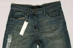 Calvin Klein Mens Jeans 34x32 Straight Relaxed Five Pocket B