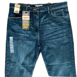 Mens Wrangler Jeans 40x30 Relaxed Fit 4-Way Flex Comfort Str