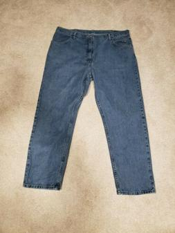 Mens Wrangler Jeans 42x32 Relaxed, Five Star New