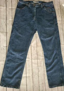 Mens Wrangler Jeans Advanced Comfort 36X32