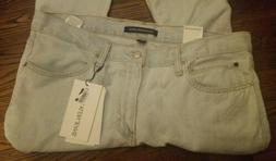 Calvin Klein Mens Jeans Black Size 36 X 32 Straight Leg Slim