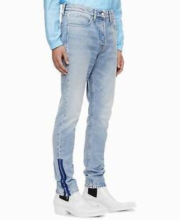 Calvin Klein Jeans Mens Jeans Blue Size 30X32 Slim Skinny Ri
