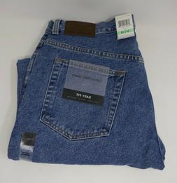 Mens Calvin Klein Jeans Classic Easy Relaxed Fit Zip Fly 34x