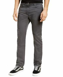 Dickies Mens Jeans Gray Size 36X34 Slim Fit Zip-Fly Flex Str