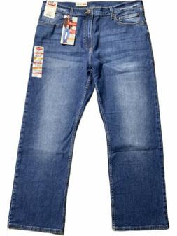 Wrangler Men's Jeans Ocean Blue Size 38X30 Boot Cut Relaxe