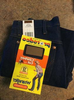 Mens Wrangler Jeans Original 13mwz Cowboy Cut