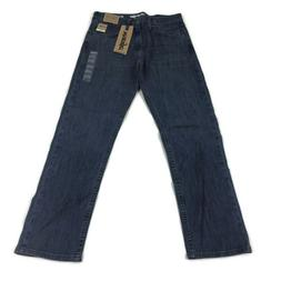 Wrangler Mens Regular Fit Jeans Stretch Advanced Comfort Blu