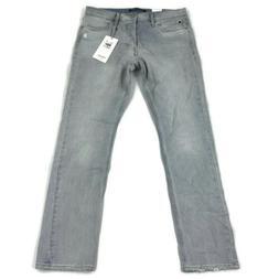 Calvin Klein Mens Jeans Slim Fit Distress Light Blue Variety