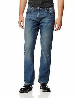 Lee Mens Jeans Stone Blue Size 31x30 Relaxed Fit Boot Cut Le