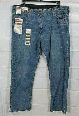 WRANGLER mens medium wash blue Performance Series jeans size