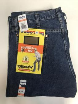Wrangler Men's Original Fit Cowboy Cut Jeans, 13MWZGK, Sto