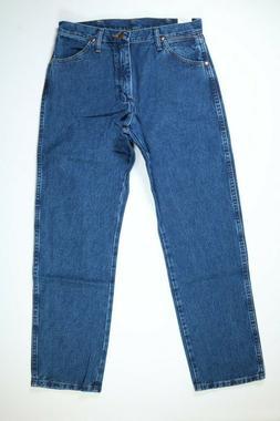 Mens Wrangler ProRodeo Cowboy Cut Blue Denim Jeans NEW! NWT