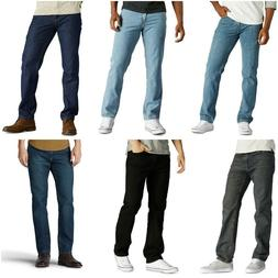 Mens Urban Pipeline Regular Fit Straight Leg Jeans 100% Cott