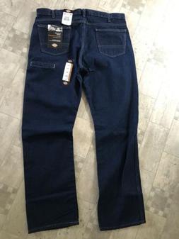 Dickies Mens Regular Straight 6-Pocket Jeans 38X32