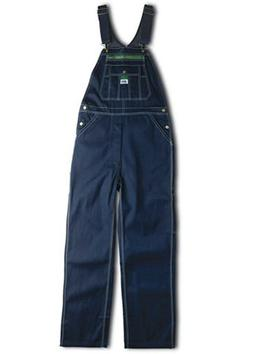 Liberty Men's Rigid Denim Bib Overalls 46x32 100% Cotton N