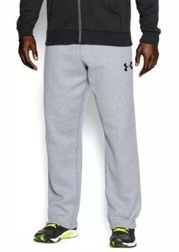 Under Armour Men's Rival Fleece Athletic Pants Loose Grey