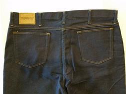 Wrangler Mens Rugged Wear Dark Blue Denim Jeans 40x34 NEW W/