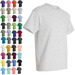 Hanes Mens Short Sleeve Crewneck Tees Tops Shirts Beefy-T 51