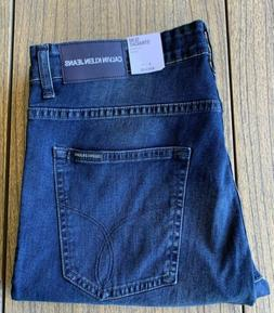 Calvin Klein Men's Slim Straight Leg Jeans Sz 34x30 NWT