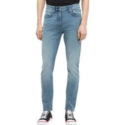 Calvin Klein Men's Straight-Fit Jeans, CKJ 035 Houston Lig