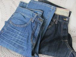 Mens' SONOMA Straight Fit/Straight Leg Blue Denim Jeans Size