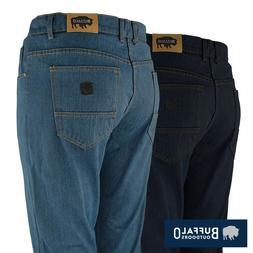 mens straight leg comfort jeans basic work