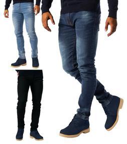 Mens Stretch Slim Fit Jeans Fashionable 5 Pocket Denim Pants