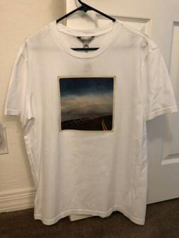 Men's Tee Shirt Size L Roadtrip Crew Tshirt Calvin Klein J