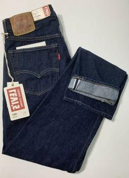 Levis Mens Vintage Clothing LVC 1954 501Z Cone Mill Selvedge