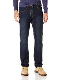 LEE Men's Modern Series Straight Fit Knit Jean, Bandit, 36W