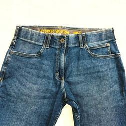 LEE Motion Stretch Regular Fit Straight Leg Mens Jeans Work