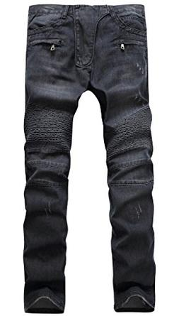 LAMCORD Motocross Distressed Destroyed Slim Straight fit Rip
