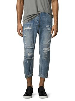 One Teaspoon Mr. Browns Relaxed Leg Tapered Ankle Low Slung