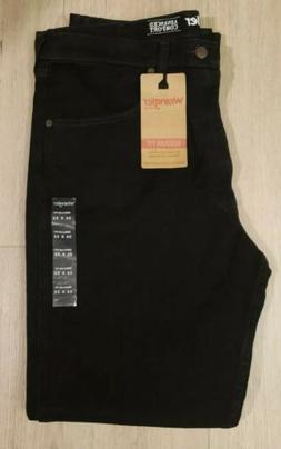 NEW 36 x 32 Wrangler Advanced Comfort Flex Regular Fit Black