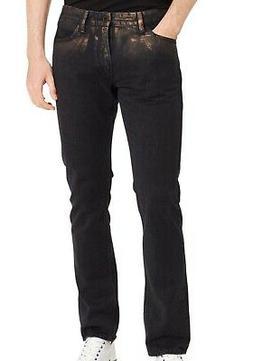 Calvin Klein NEW Black Copper Mens Size 32X32 Slim Skinny Je
