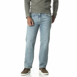 Wrangler NEW Bleached Men's Performance Series Denim Flex Co