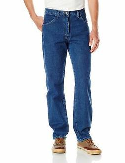 Maverick Men's Relaxed Fit Jean, Dark Stonewash, 36x32