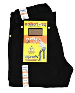 New Wrangler Cowboy Cut 13MWZ Original Fit Jeans Shadow Blac