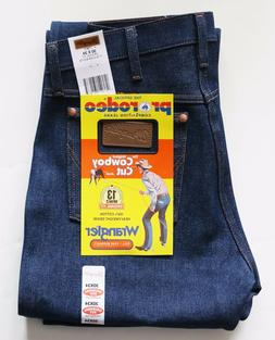 New Wrangler Cowboy Cut 13MWZ Original Fit Jeans Rigid Indig