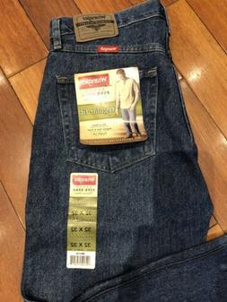 New Wrangler Five Star Men's Regular Fit, Straight Leg Jeans