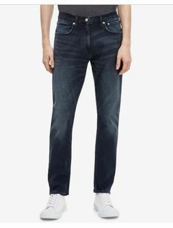 New Calvin Klein Jeans Men's 30Wx30L Denim Blue Black Athlet