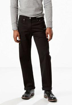 New Levi's Men's 569-0125 Stretch Loose Fit Straight Leg Jea